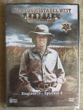 Alla conquista del West numero 20 - Stagione 3 Episodio 6 - DVD nuovo sigillato