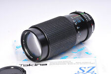 RMC Tokina 80-200mm 1:4 Zoom lens in Minolta MD Mount with manual