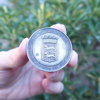 19th Century France - Norman Association Agriculture Industry Art Silver Medal