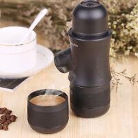 Portable Manual Coffee Maker Cappuccino Espresso Mini All in One