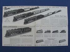 """""""A.C.Gilbert"""" 1939 Ho Gauge Folder D1277, Original"""