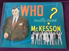 McKesson 1959 Who Really Owns McKesson Catalog