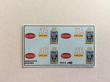 ATA extra fein Decals 1:160 oder Spur N Wasserschiebebilder