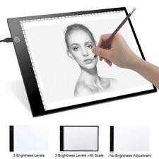Leuchttisch LED A4 Mangazeichnen Dimmbar Artograph Leuchtplatte Light Box Pad DE