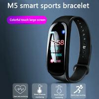 M5 Smart Wristband Sports Fitness Activity Tracker Pedometer Watches latest 2019