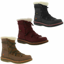 The Art Company Shoes 0435 Assen Warm Fur Lined Womens Leather Boots Size 5-8