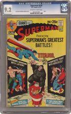Superman #239 DC 1971 CGC 9.2 Giant Size Hercules Lex Luthor Titano Super Ape