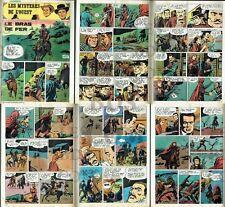 """TéLéJUNIOR 1980 (Ref. 3M6) :  Les MYSTèRES de L'OUEST : """"Le Bras de Fer""""  6pages"""