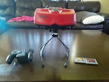 Nintendo Virtual Boy w/ Technoboxer and Galatic Pinball (TESTED) WORKS