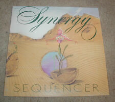 Synergy Sequencer Passport LP 1974 Electronic Synth Larry Fast