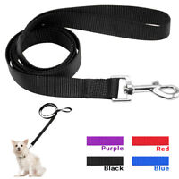 48'' Nylon Pet Dog Leash Leads Soft Durable for Small Large Dogs Walking 4 Sizes
