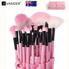 Vander 32Pcs Lovely Pink Soft Hair Beauty Makeup Cosmetic Brushes Kit + Pink Bag