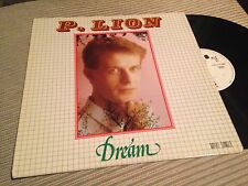 "P. LION 12"" MAXI WHITE LABEL PROMO SPAIN - DREAM - DISCOMAGIC CBS ITALO DISCO"