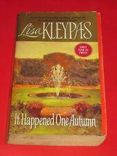 msm SALE : LISA KLEYPAS ~ IT HAPPENED ONE AUTUMN