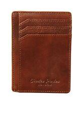 Titular de la tarjeta de crédito de cuero genuino Tarjeta Billetera & Caja De Regalo-Bloqueo de RFID, SL..
