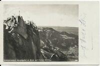 Ansichtskarte Aschau - Kampenwand, Blick auf Hohen-Aschau, 1936 - schwarz/weiß