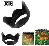 52mm Tulip Flower Lens Hood For Nikon D5500 D5300 D5200 D5100 D3300 D3200 D3100