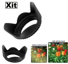 49mm Pro Series Hard Tulip Lens Hood (Black)