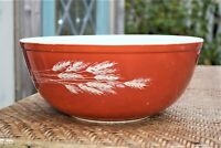 Vintage Pyrex Autumn Harvest Round Mixing Bowl 404-MCM
