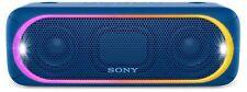 Sony SRS-XB30 Portable Bluetooth Wireless Speaker BLUE