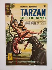 TARZAN OF THE APES #170 (F/VF) 1967 SILVER AGE GOLD KEY COMICS! PAINTED COVER