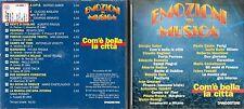 CD -  DE AGOSTINI EMOZIONI IN MUSICA - COM'E' BELLA LA CITTA'              (500)