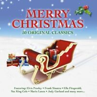 MERRY CHRISTMAS - 50 ORIGINAL CLASSICS - PRESLEY,ELVIS/+   2 CD NEW