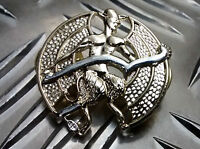 """Genuine British Army """"The Devils Own"""" (ICCEY) Metal Collar Dogs Brand New"""