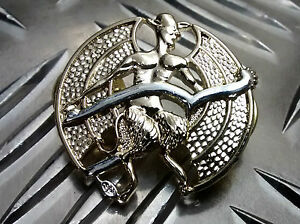 "Genuine British Army ""The Devils Own"" (ICCEY) Metal Collar Dogs Brand New"