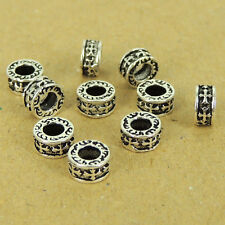 10 Pcs 925 Sterling Silver Cross Spacers Celtic Vintage Jewelry Making WSP445X10