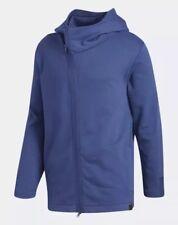 $90 Adidas Harden Shooter Hoodie Jacket Men's Size XL Basketball Blue CV7718 NWT