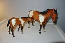 VINTAGE 1970'S - 1980 - RETIRED 3180, 3155 MARE W NURSING FOAL #22