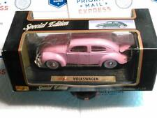 1951 Split Window NEW PINK 1/18 scale VW BEETLE BUG Type 1 Car New in the Box