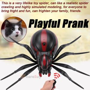 Remote Control Mock Fake RC Toys Prank Spider Joke Scary Trick Bugs XMAS Gift