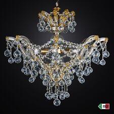 LAMPADARIO sospensione CRISTALLO CLASSICO 6 LUCI MARIA TERESA DESIGN SWAROVSKY