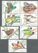 Australia- Birds -Finches 2018  sets 2  mnh