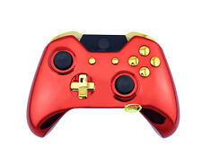 Iron Man Chrome Full Custom Replacement Xbox One Controller Shell Mod Kit Case