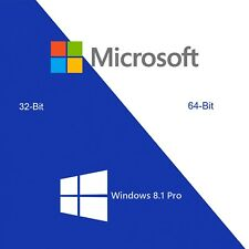 Windows 8.1 Professional Aktivierungsschlüssel Win 8.1 Pro Key 32 & 64 bit ESD