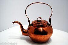 rare BOUILLOIRE VERSEUSE CUIVRE XVIIIè antique french copper kettle 1800