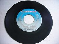 Little Milton Grits Ain't Groceries / I Can't Quit You Baby 1968 45rpm