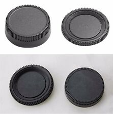 1 Set Body Cap and Lens Rear Cap for All Nikon Camera DSLR SLR Useful CA
