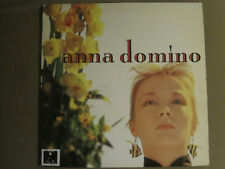 ANNA DOMINO THIS TIME LP ORIG '87 GIANT GRI 6007-1 SYNTH POP FLOOD GEM VG+