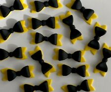 WIGGLES EMMA BOW CUP CAKE TOPPERS X 12 !!!!  Approximately 5cm ...WOW!!