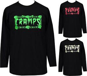 The Cramps Mens Psychobilly T-Shirt Psychobilly T-Shirt Garage Punk Skulls