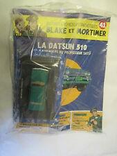 Voiture Blake et Mortimer La Datsun 510 des 3 Formules du Professeur Sato Neuf