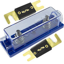 ANL Fuse Holder High Quality 1/0/4/8 Gauge + 2 Pack 200 Amp 200A Fuse USA