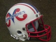 Montreal Concordes 1983-1985 CFL mini football helmet