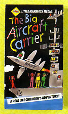 The Big Aircraft Carrier ~ New VHS Movie ~ Children's Planes Navy Sealed Video
