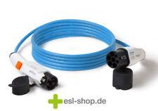 Elektroauto Ladekabel Typ1 auf Typ2 (Mode3) 7,4kW | 7 m Länge | blau