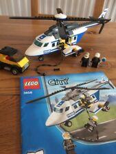 Lego City Helicóptero De Policía 3658 (2011)